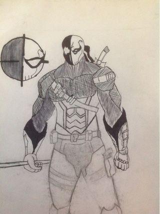 Deathstroke Drawings I...
