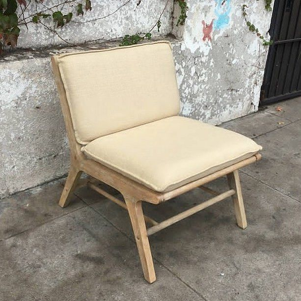 This Cream Lounge Chair, $475 20%u003d$380 Sale Applies To New Purchases