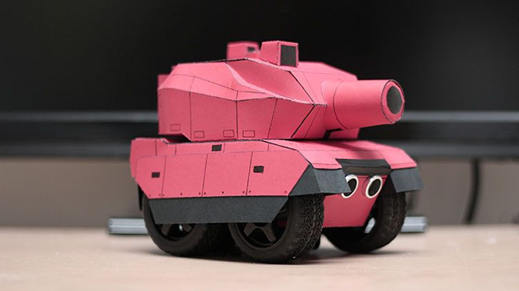 RC Paper Tank Bring Your 3D Models to Life Paper