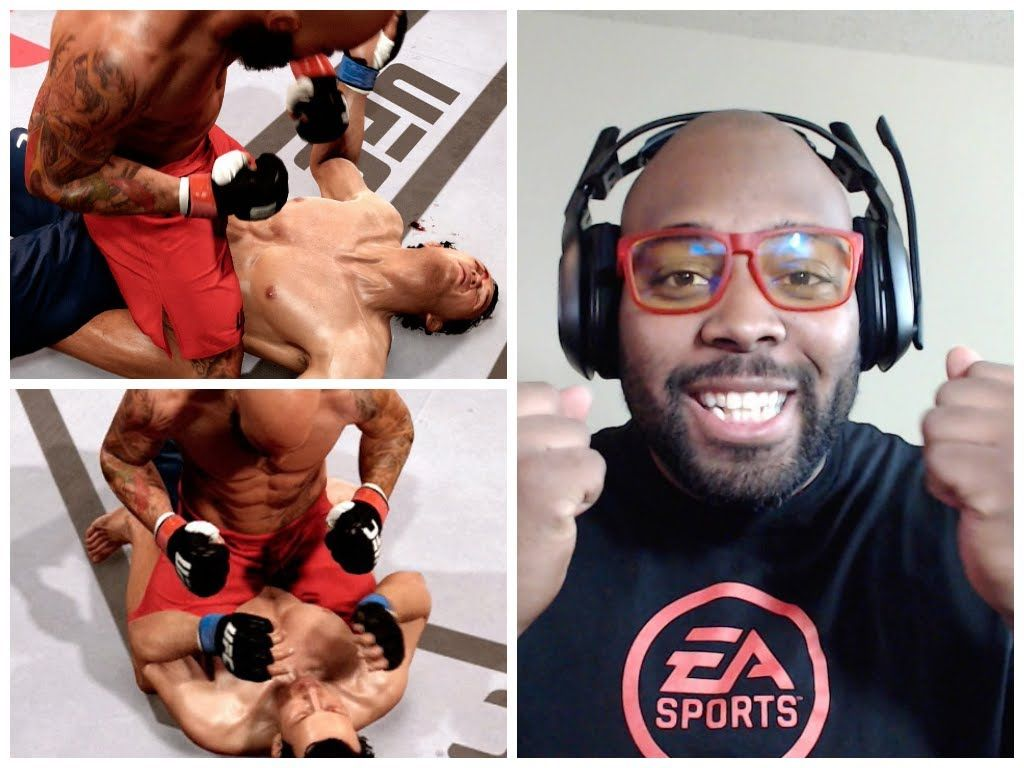 Ea sports ufc career mode facecam my chance to the