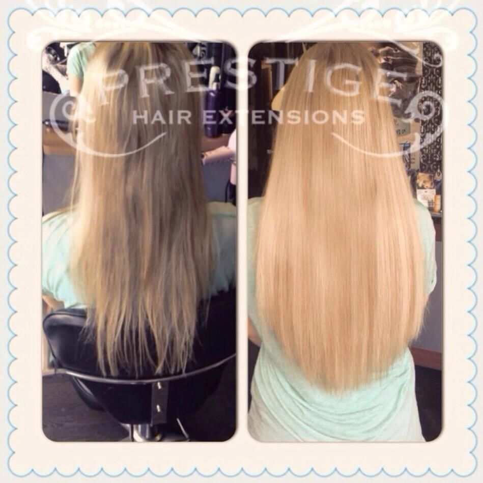 Double Drawn Keratin Bonded Fitted In Manchester Stockport Using