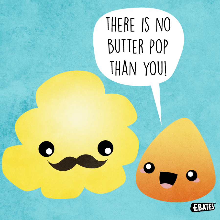 It may be corny, but it's a good one! #NationalPopcornDay #PunTuesday