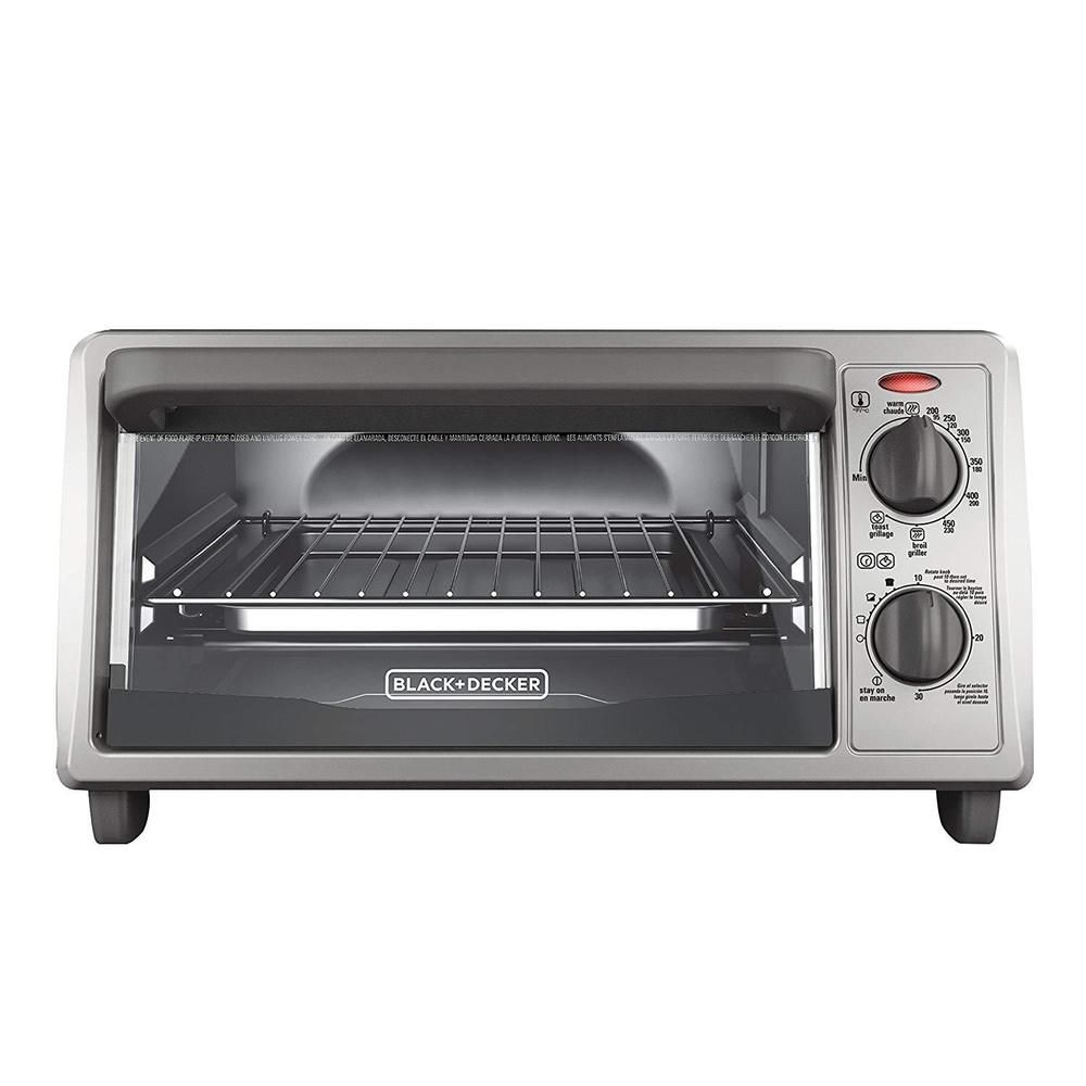 Countertop Toaster Oven Stainless Steel Baking Broiling Pizza 4