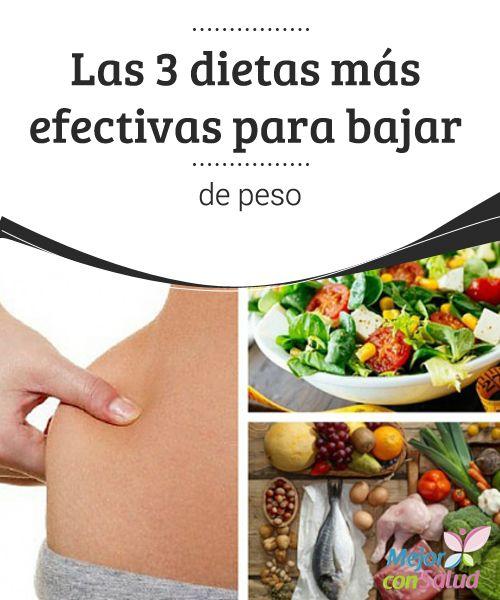 cual es la dieta mas eficaz para bajar de peso