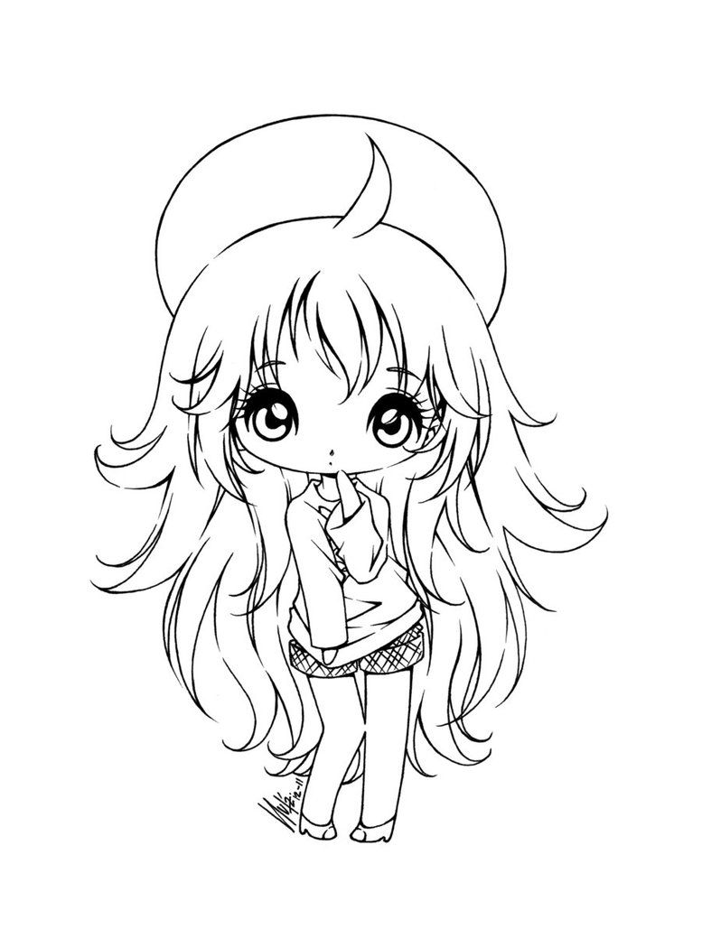 anime coloring pages deviantart outgoing - photo#16