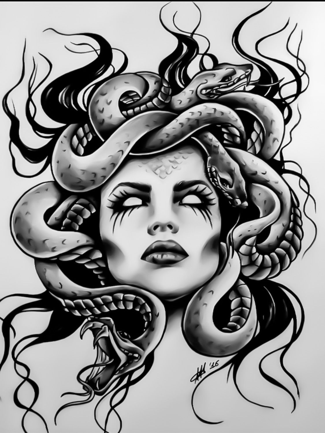 Pin On Medusa Tatt