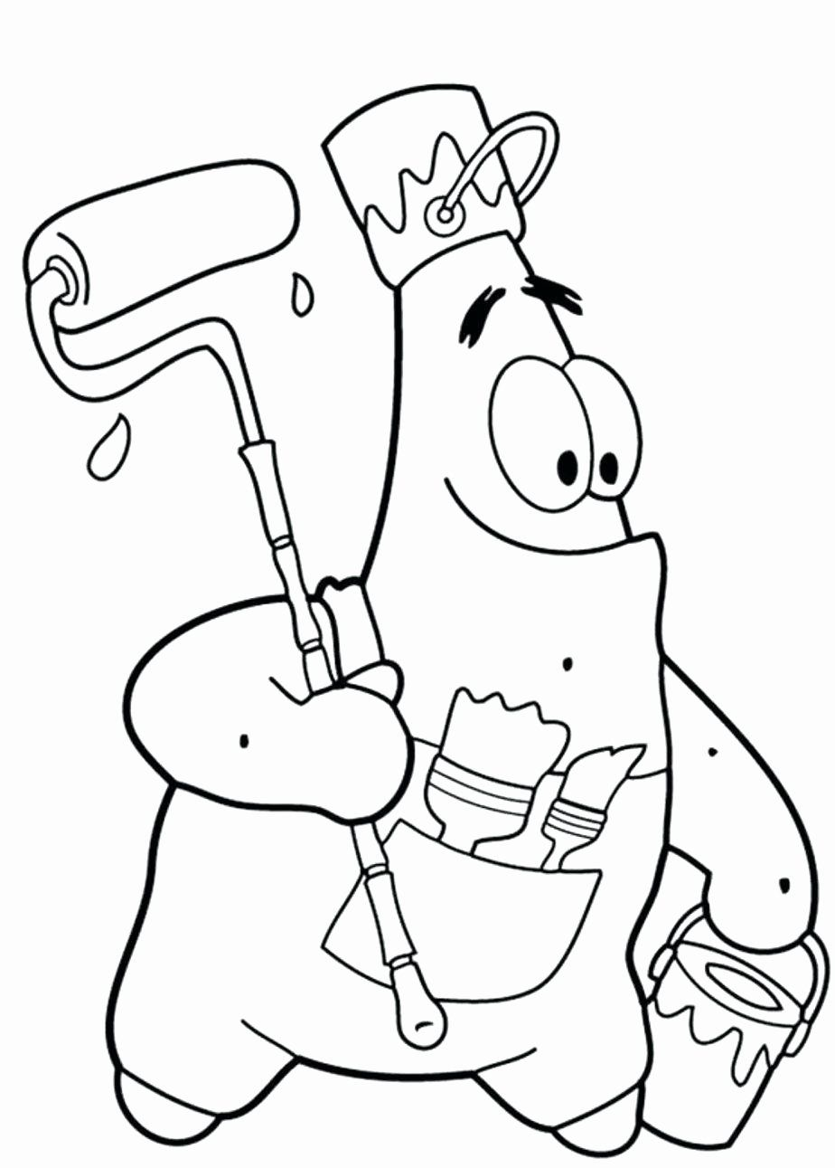 Star Coloring Pages For Preschoolers Unique Megamind Coloring Pages Cortexcolor Spongebob Coloring Cartoon Coloring Pages Spongebob Drawings