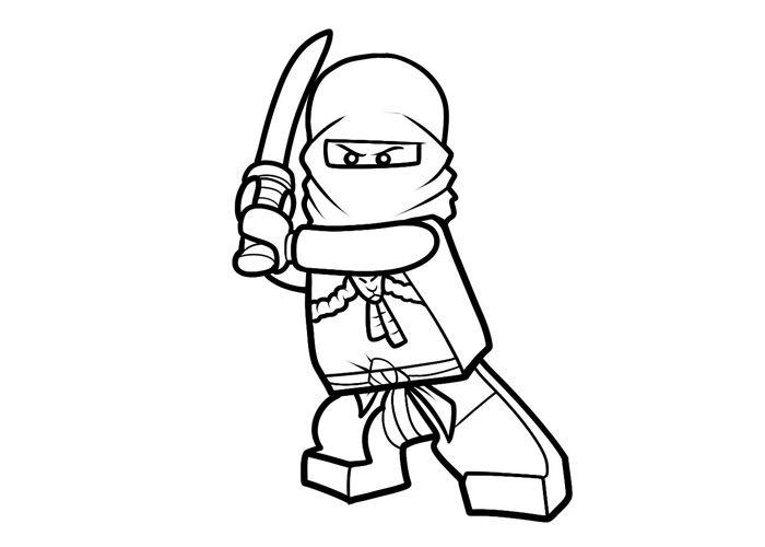 ninjago coloring pages LEGO Ninjago Coloring Pages to