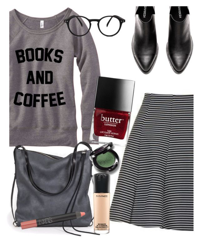 """""""my so called life"""" by elliewriter ❤ liked on Polyvore featuring Topshop, Ina Kent, See Concept, NARS Cosmetics, MAC Cosmetics and elliesSoCalledLife"""