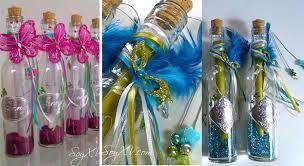 Resultado de imagen para invitaciones en botellas de vidrio para 15 años