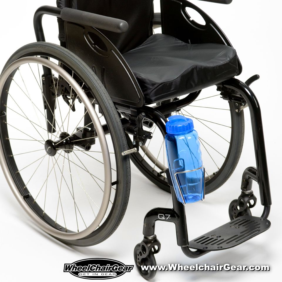 Our COOL wheelchair bottle holder. Just click HERE http