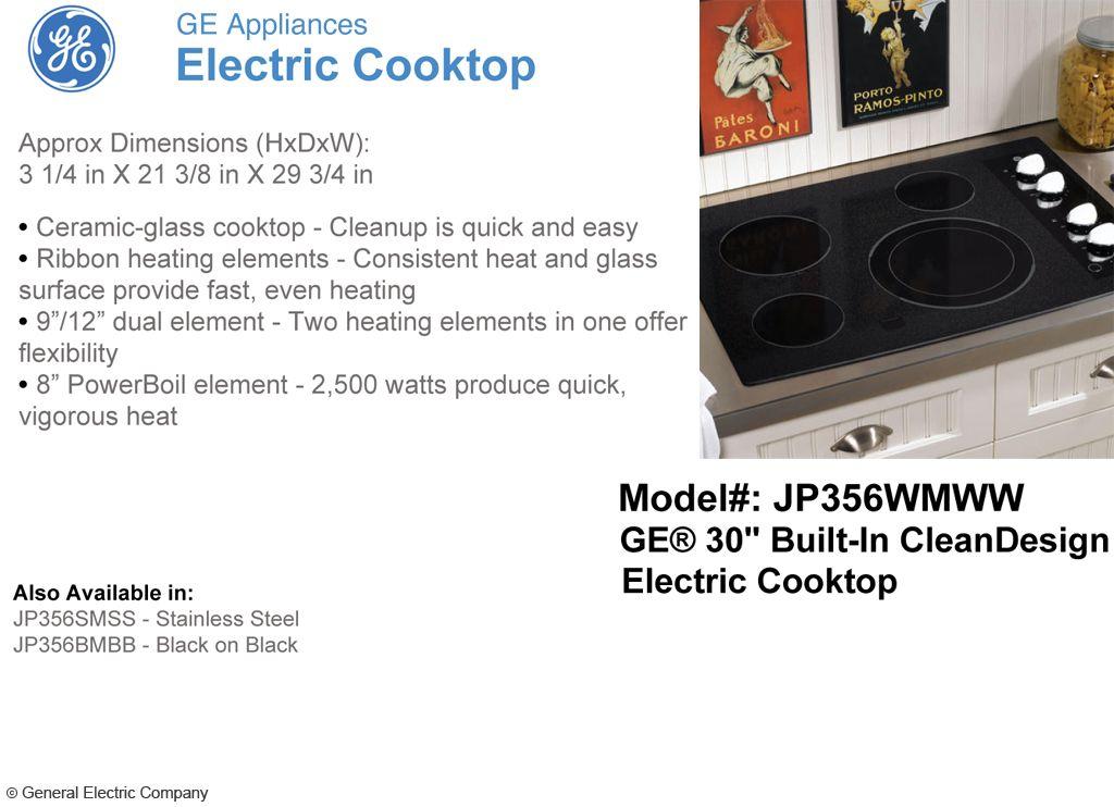Electric cooktop electric cooktop cooktop heating element