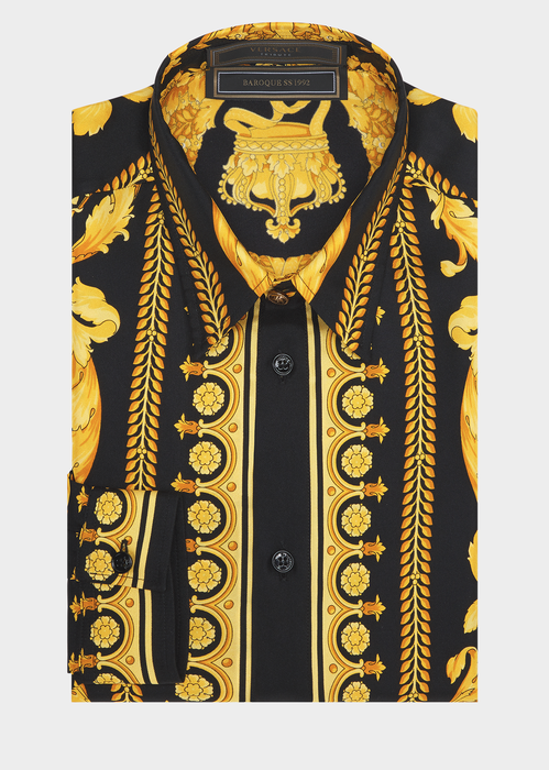 149b334b5a0b VERSACE Barocco SS 91 Silk Shirt.  versace  cloth     Versace Men in ...