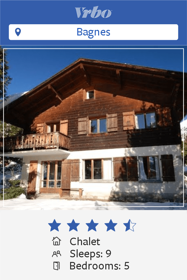 Vacation Chalet in Verbier