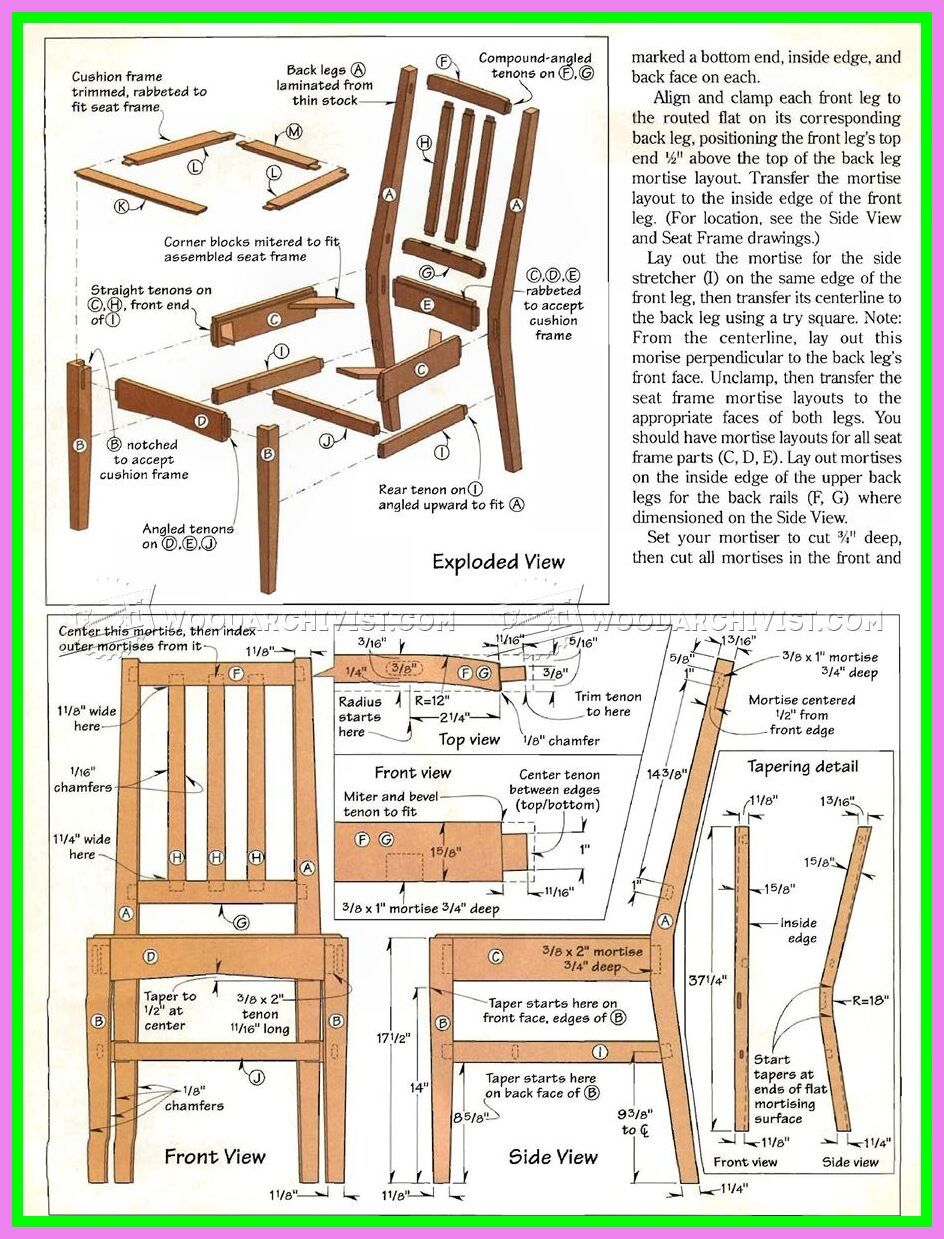 109 Reference Of Wooden Chair Design Dining In 2020 Woodworking Plans Woodworking Projects Furniture Woodworking Plans Beginner