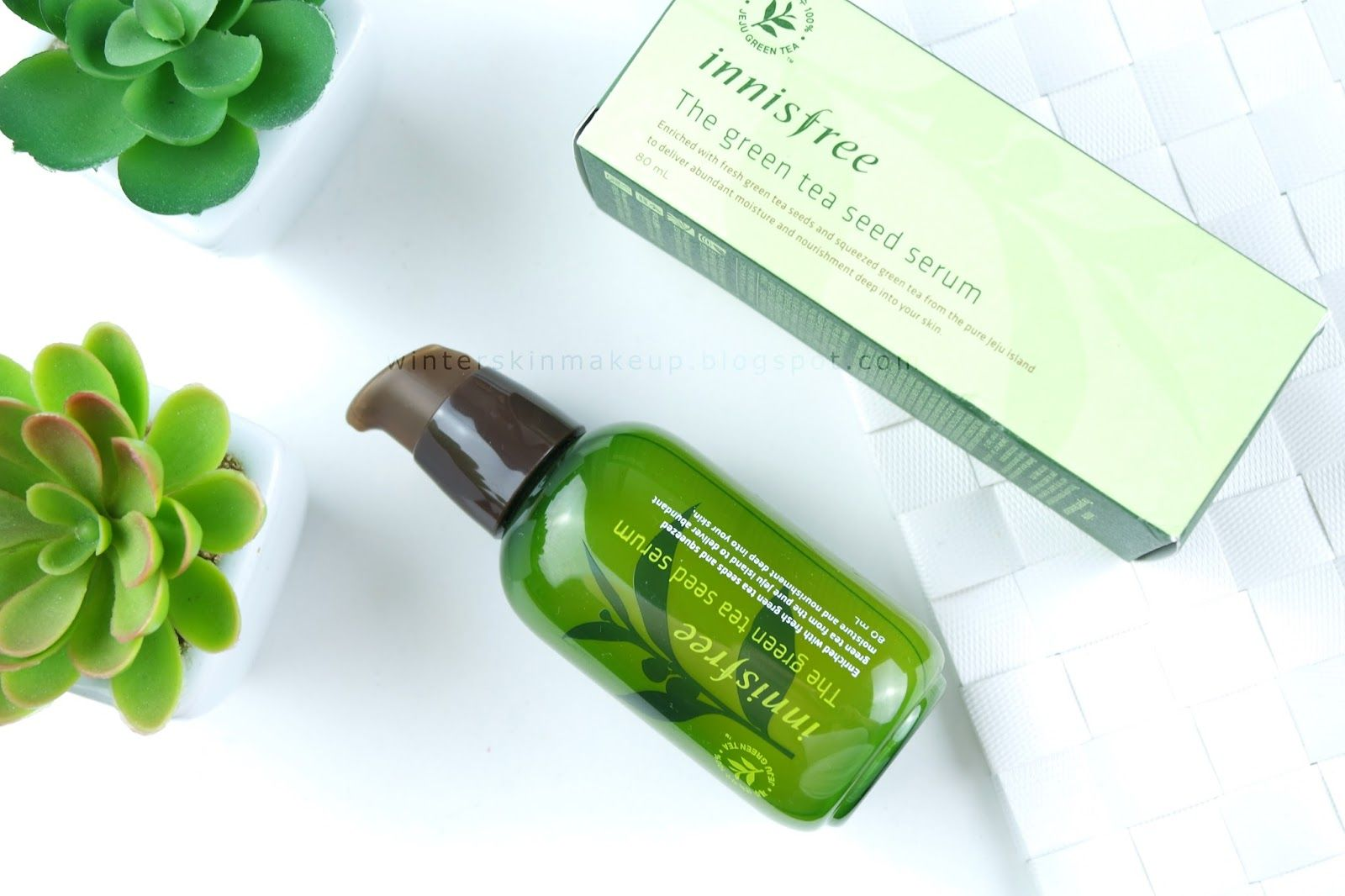 Innisfree The Green Tea Seed Serum Review Make Up Pinterest 80ml