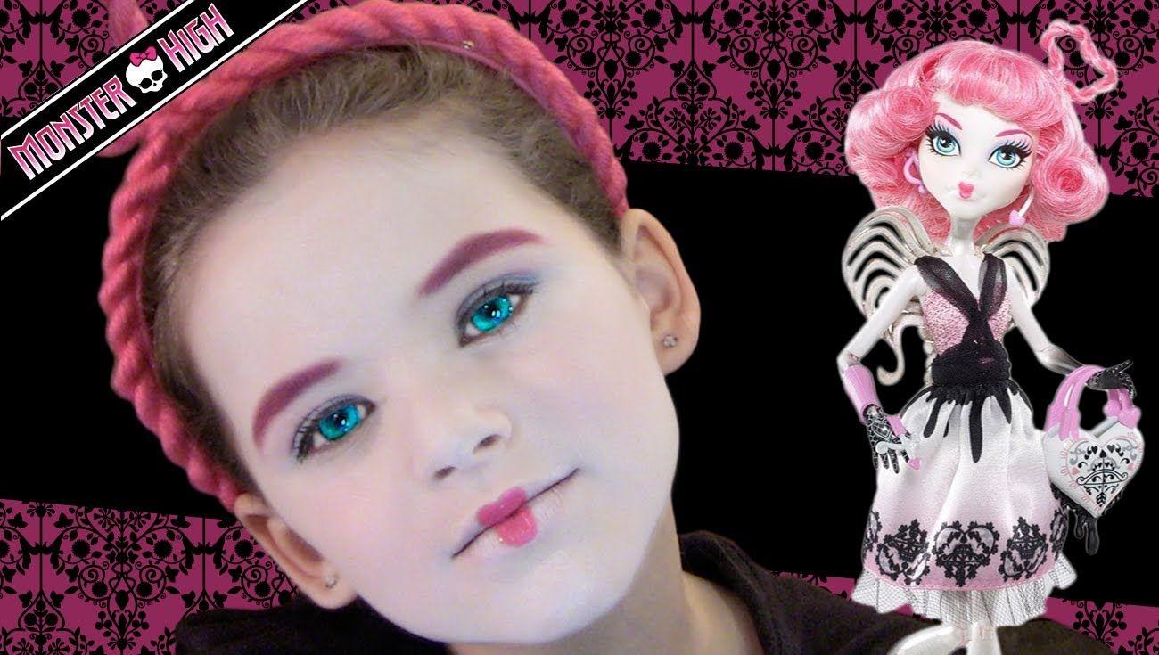 Ca cupid monster high doll costume makeup tutorial halloween ca cupid monster high doll costume makeup tutorial baditri Images