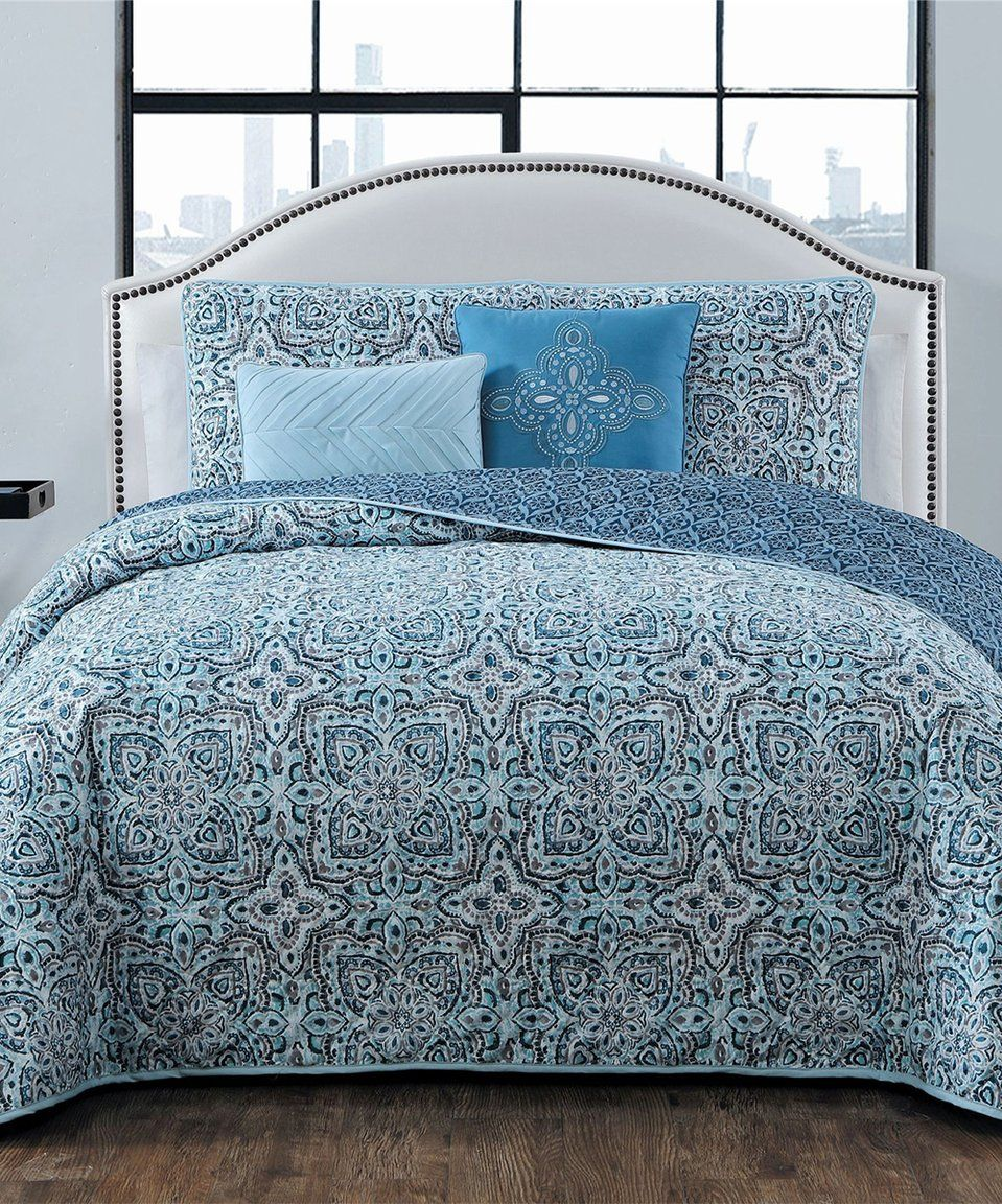 Take A Look At This Blue Bianca Quilt Set Today Quilt