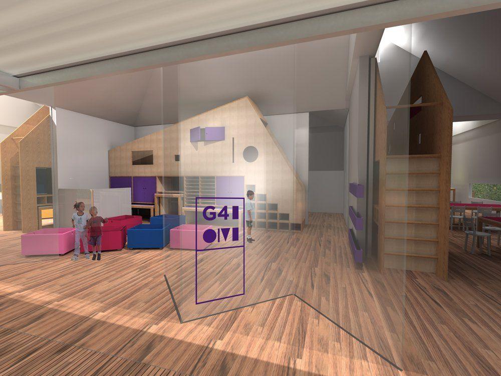 Image 7 of 26 from gallery of CEDEI Nursery School / +K Arquitetos. classroom 04 / © Damien Murat & Thiago Mendes