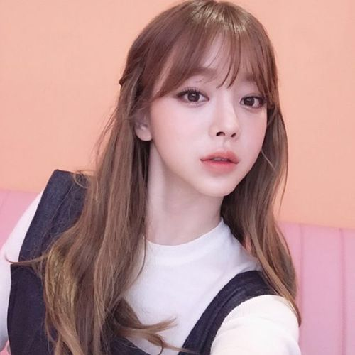 Pin by 아름 on ♡ 얼짱 ♡ | Pinterest | Ulzzang, Bangs and Korean