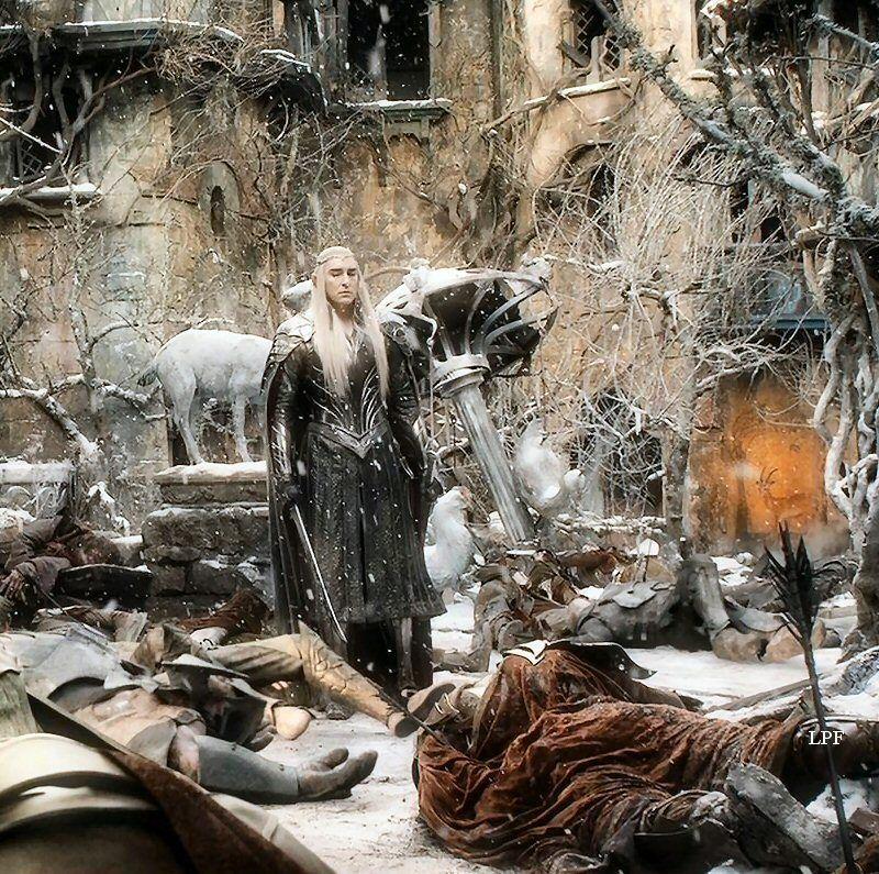 "leepace71: ""Thranduil, The Hobbit: The Battle Of The Five"