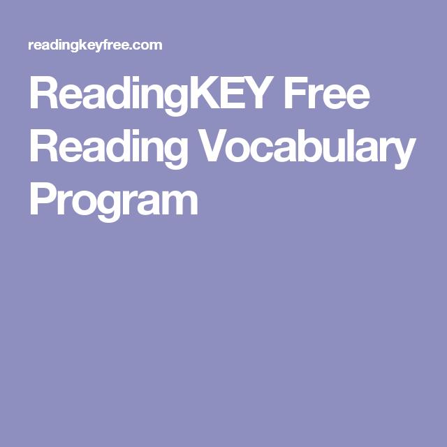 Www readingkey com ideas