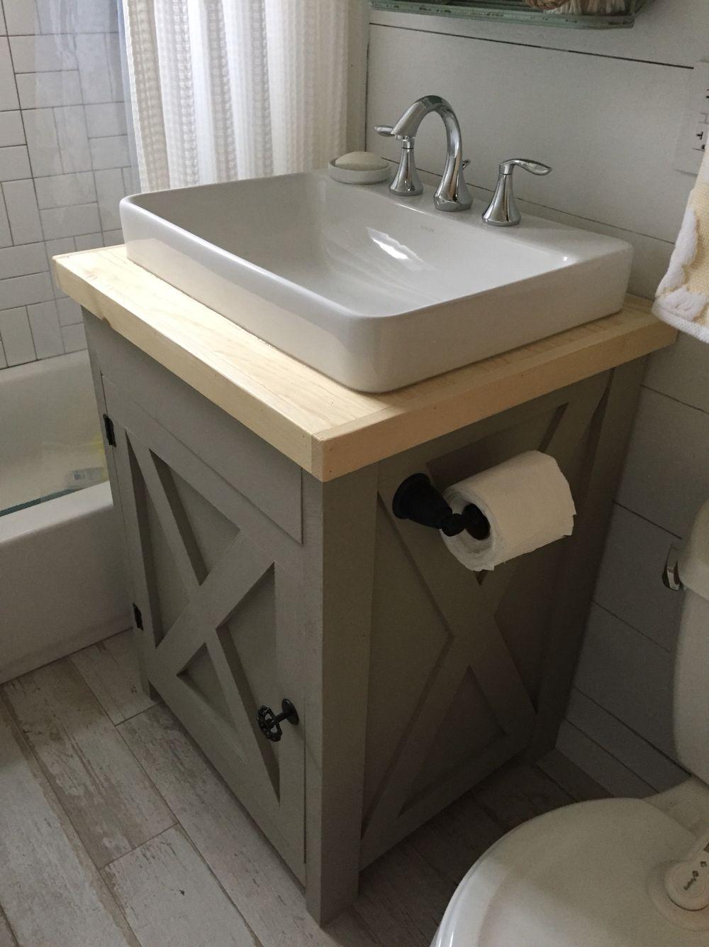 plans vanity bathroom woodarchivist