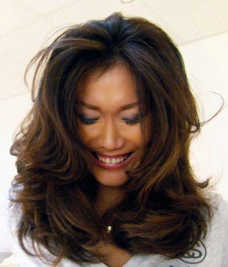 Hairstyles For Long Asian Hair : Balayage hair color ideas long layered asian rmzkvggd
