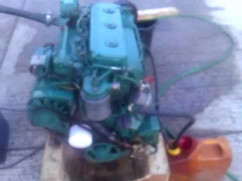 Volvo Penta 2003 28hp Naturally Aspirated Marine Engine Marine Diesel Engine Volvo Water Cooler