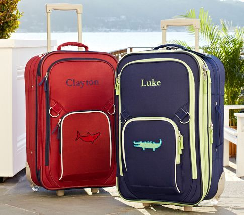 Luggage For A Big Boy Kids Luggage Baby Gifts Kid Beds