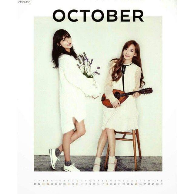 SNSD, Calendar and Seasons on Pinterest