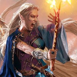 Elf Warrior Female Elf Fantasy Wizard Fantasy Warrior