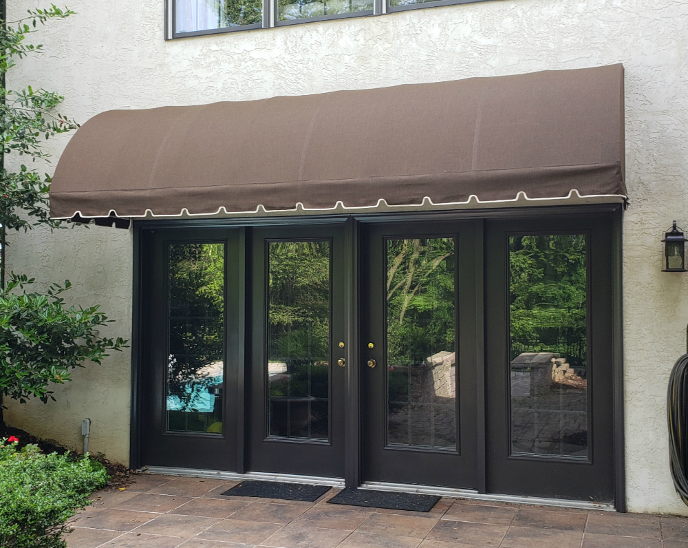 Waterfall Style Residential Entrance Awning Door Hood Entrance Awnings Diy Awning Entrance