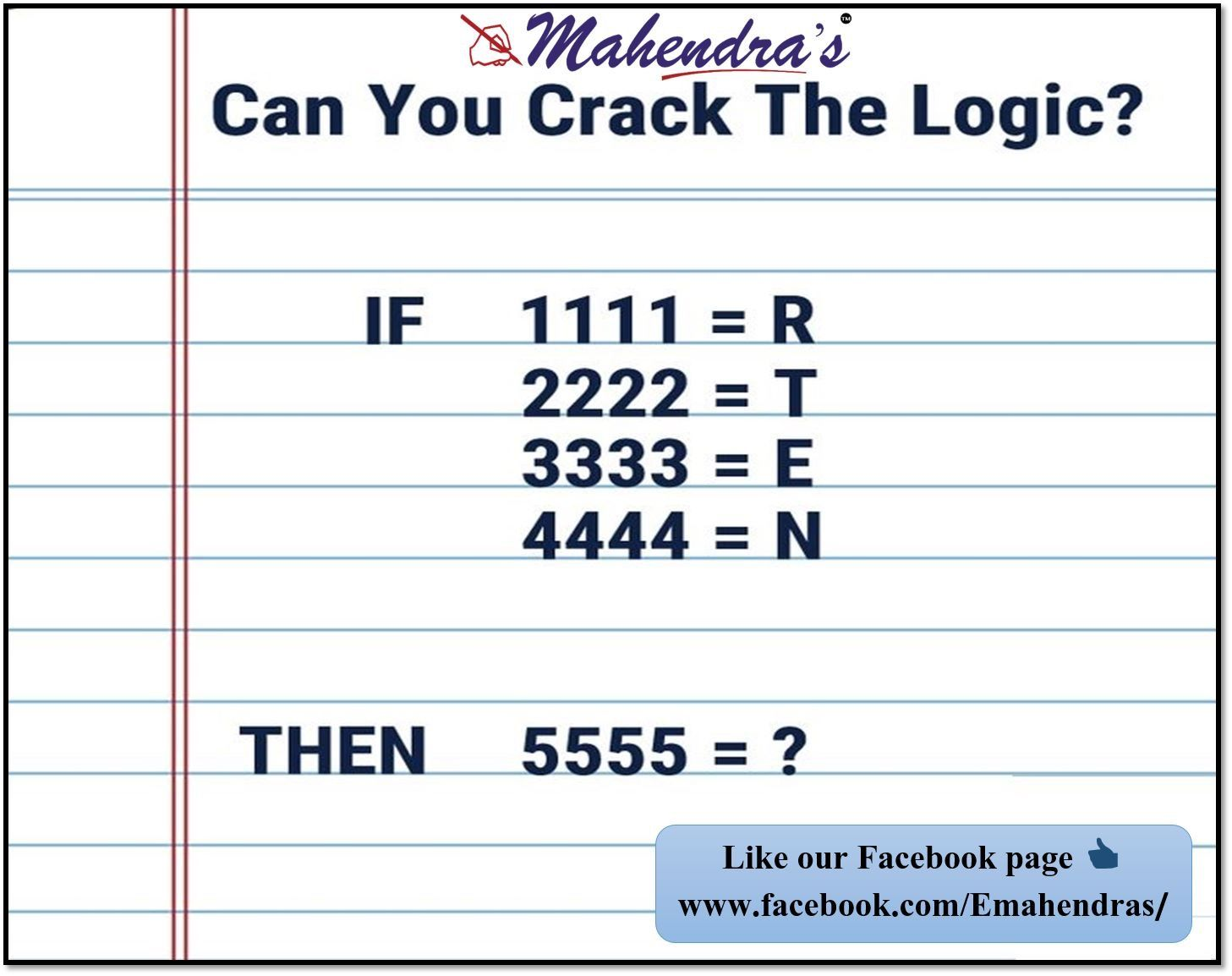 Can You Solve This Quiz Comment Your Answer And Share It With Your Friends Like Our Facebook Page If You Liked This Post Brain Teasers Quiz Solving