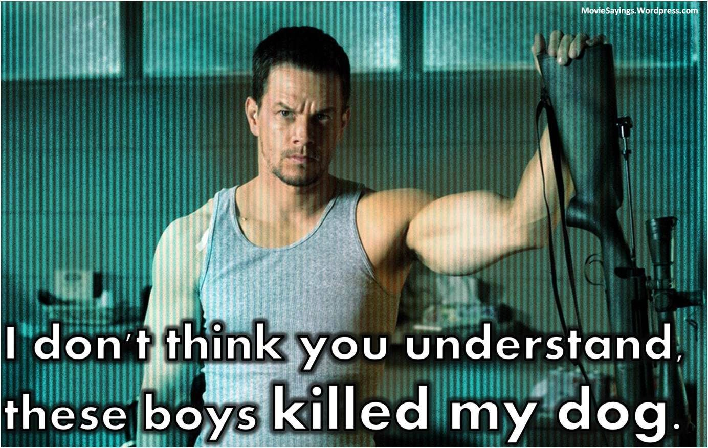 Mark Walberg Sayinga  Mark Wahlberg Shooter 2007  Movie -7523
