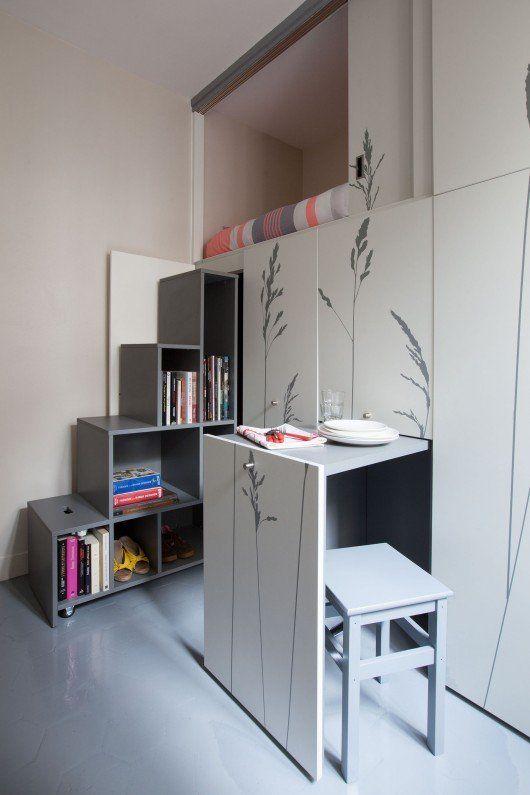 Truly Tiny 4 Apartments Under 100 Square Feet Tiny Apartment Apartment Interior Small Apartments