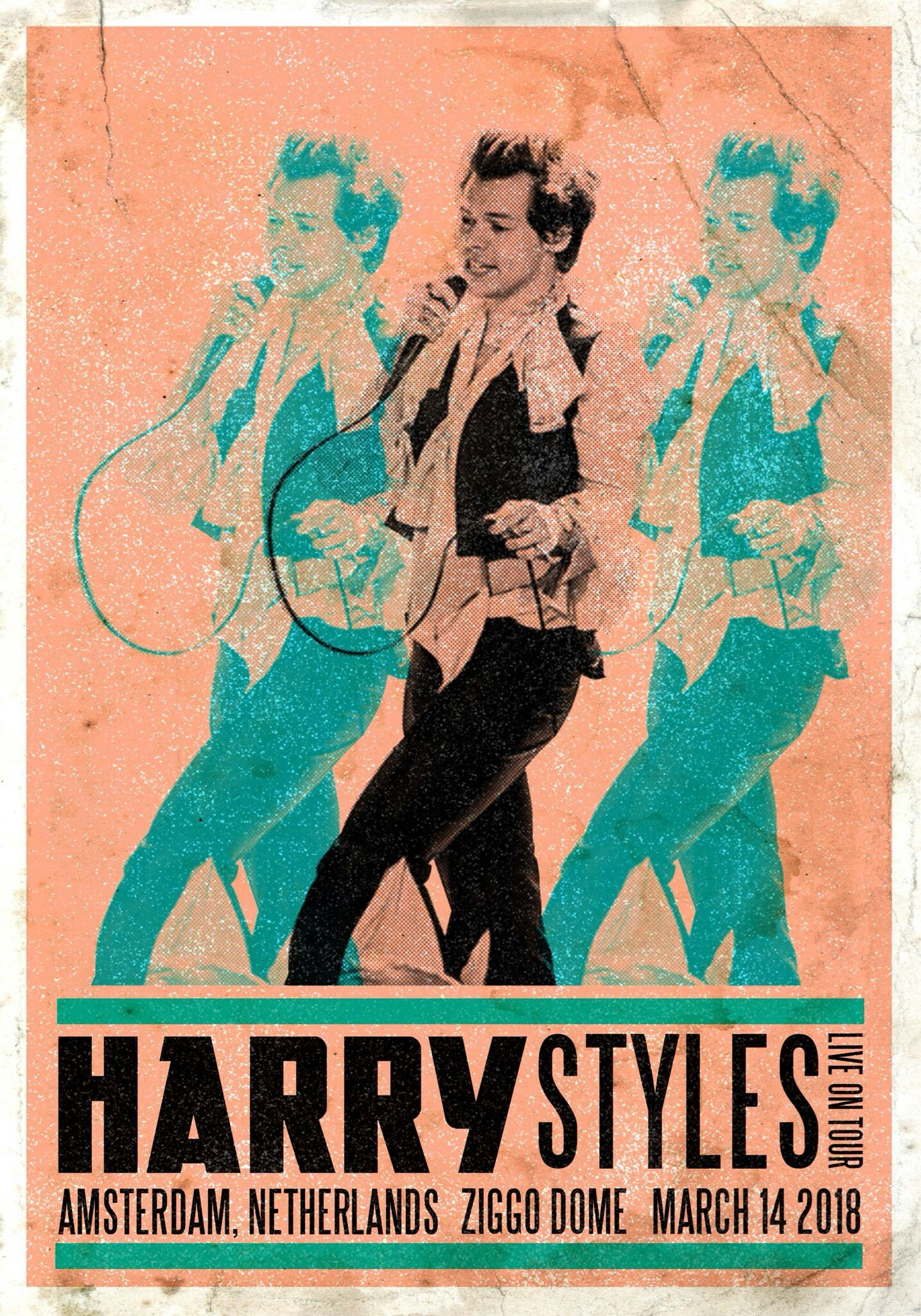 My Show Harry Styles Poster Harry Styles Wallpaper Vintage Posters