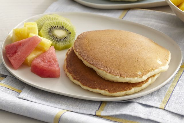 Everyone Needs A Basic Pancake Recipe Up Their Sleeve Whip Up A Batch For Breakfast Or Brunch And Kraft Recipes Breakfast Brunch Recipes Pancake Recipe Easy