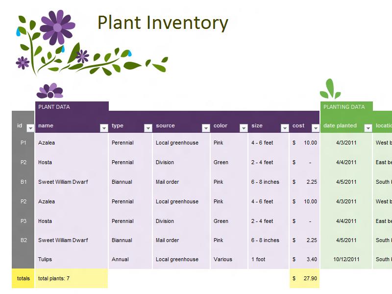 Pretty garden planner templates for my gardening nerd peeps! Garden ...