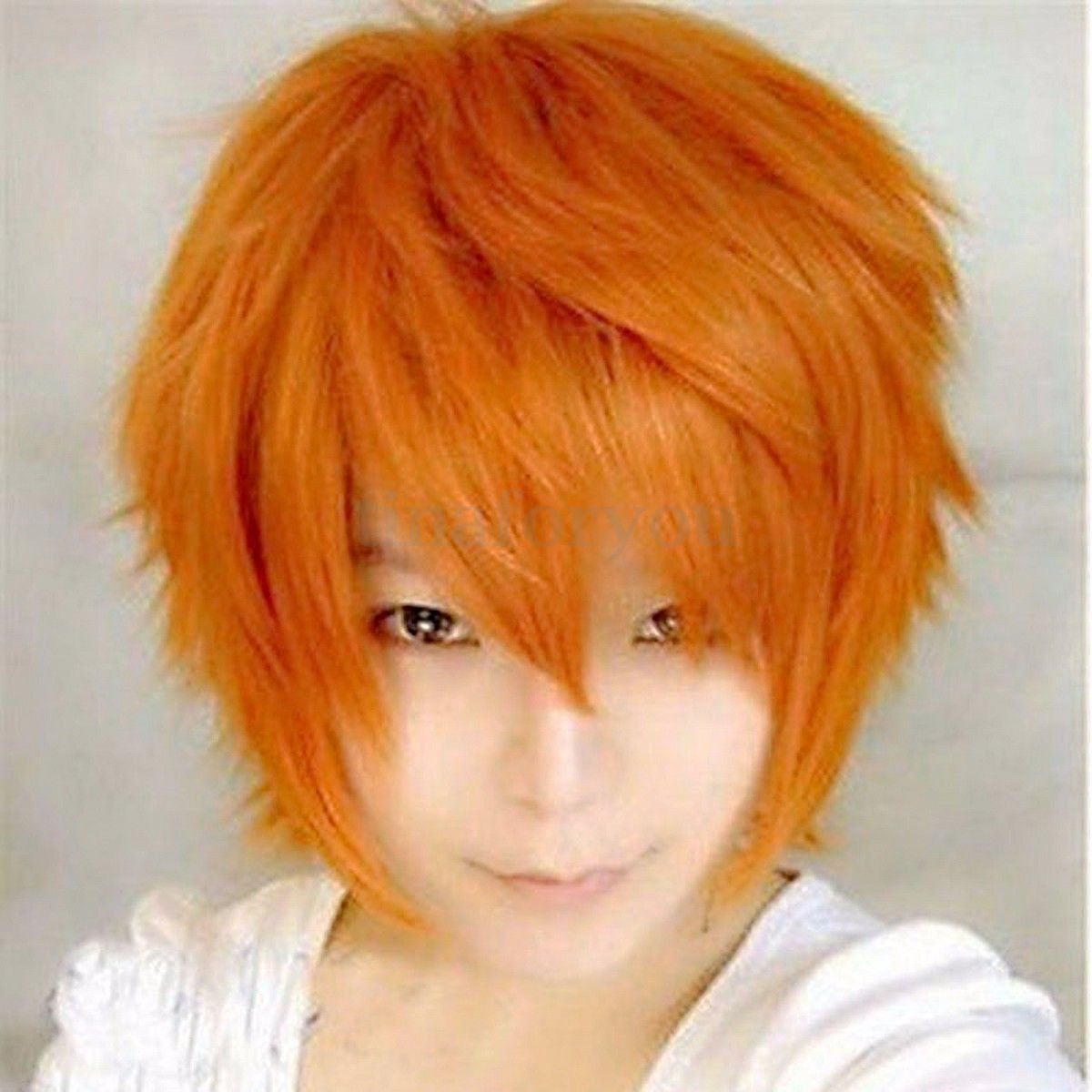 Boy hair color images short hair cosplay wig  cosplay  pinterest  cosplay wigs wig and