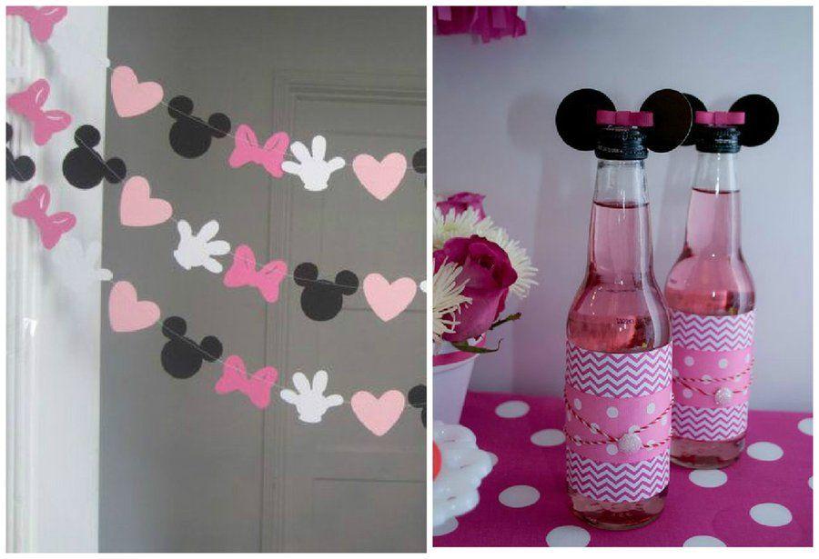 Ideas DIY para una fiesta temática de Minnie mouse | Minnie mouse ...