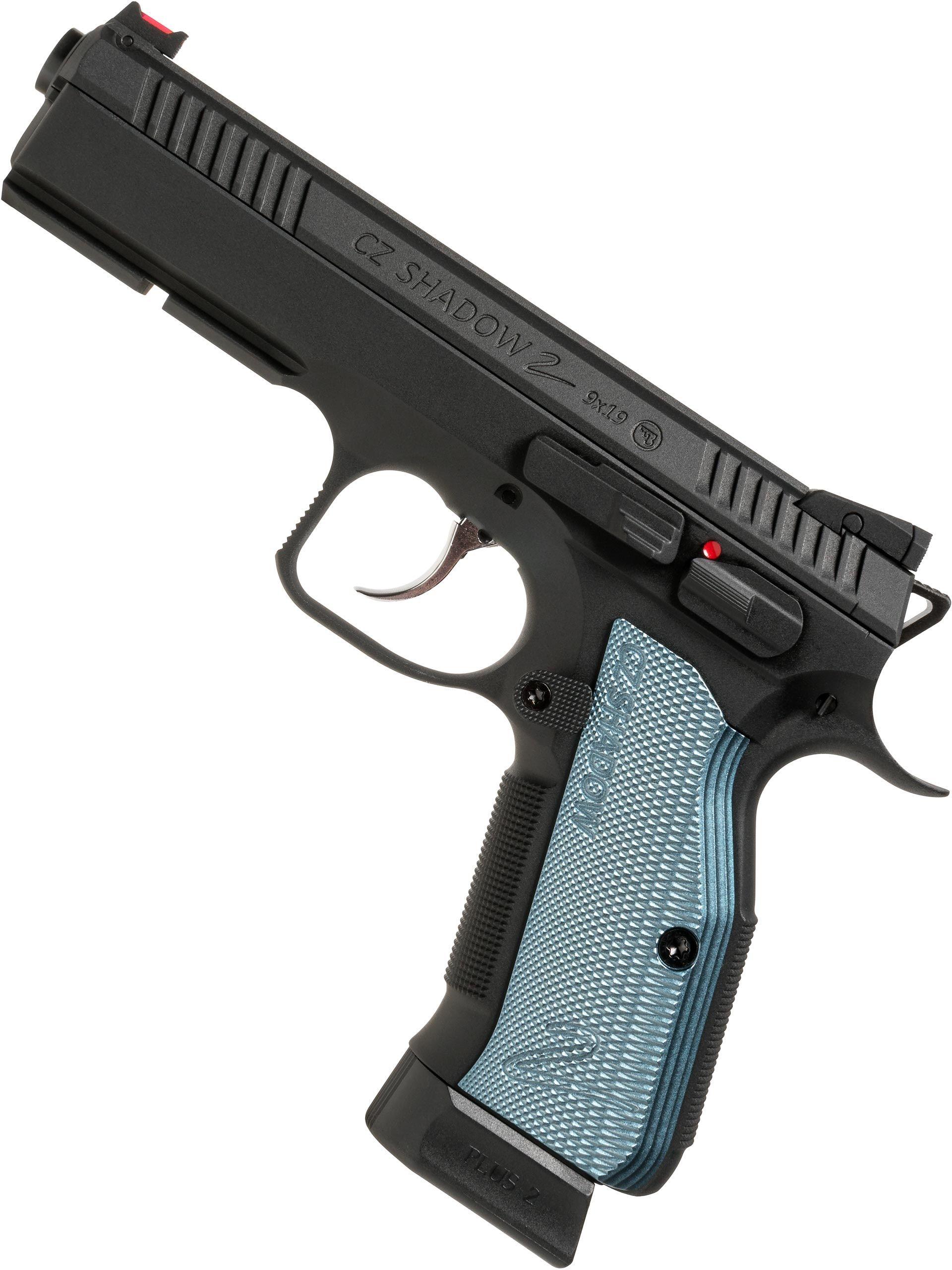 ASG CZ Shadow 2 CO2 Pistol, Black