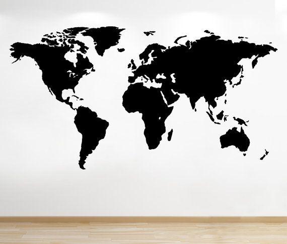 MÖLLTORP Planbord Plan je wereld 95x67 cm Blackboards, Room decor - fresh interactive world map desktop background