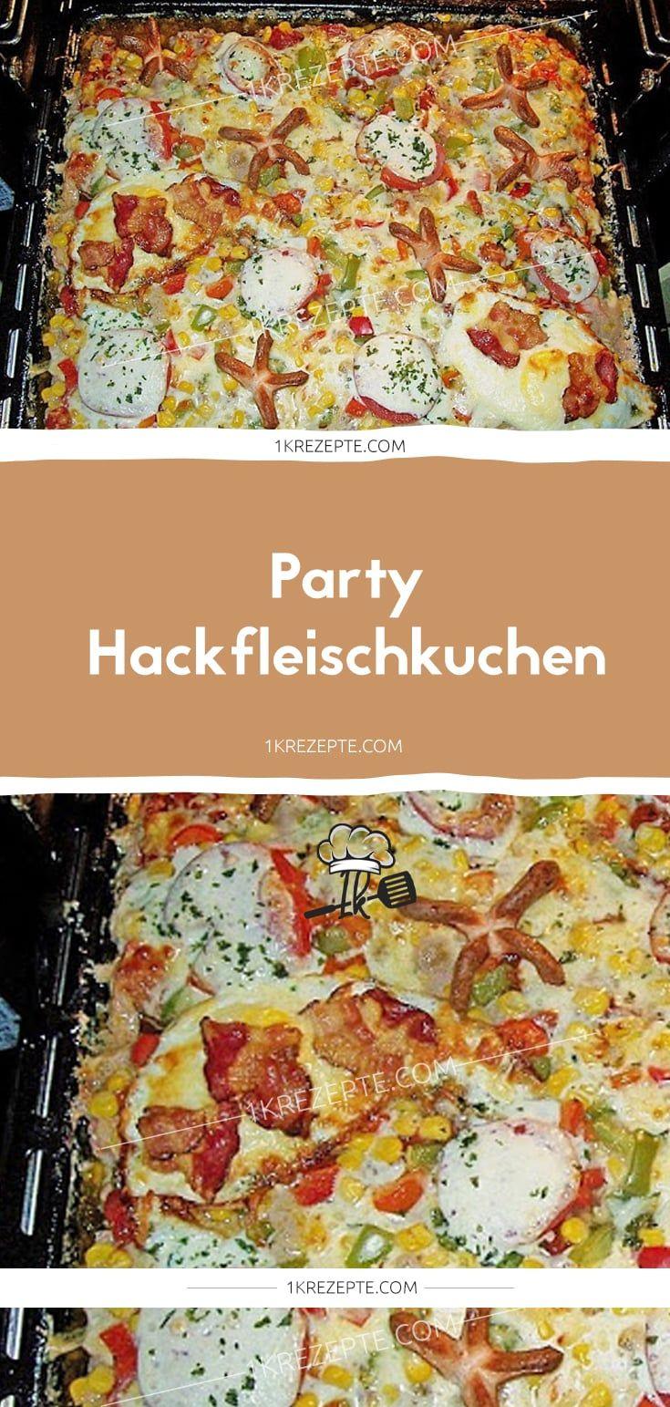 Party Hackfleischkuchen #buffet