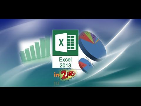 Excel 2010 Tutorial Comprehensive Part 1 of 2 - Become a Pro in 1