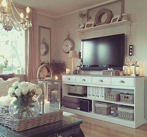 Love It Living Room Tv Stand Farm House Living Room Neutral Living Room