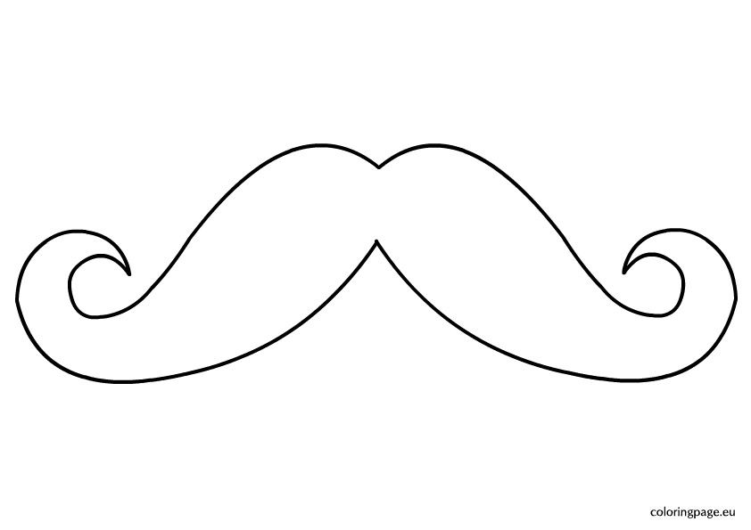 Mustache Coloring Page Coloring Pages Super Coloring Pages Pokemon Coloring Pages