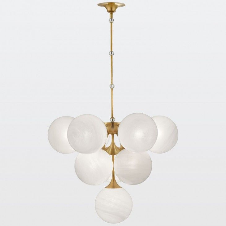 Cristol Tiered Pendant With Images Aerin Lauder Brass Pendant