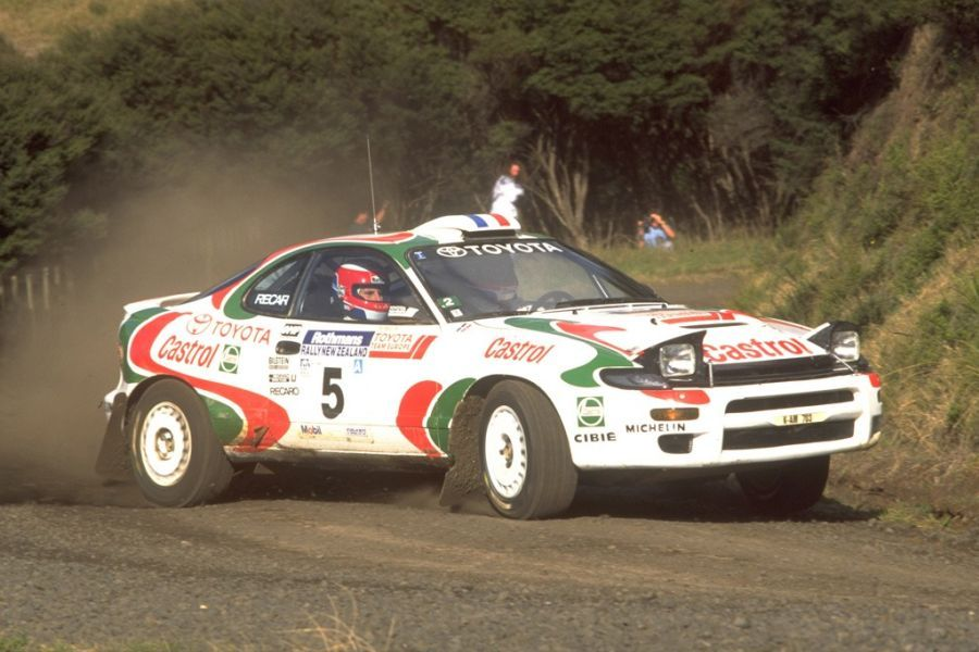Toyota Celica GT-Four is the most successful Japanese rally car ever ...
