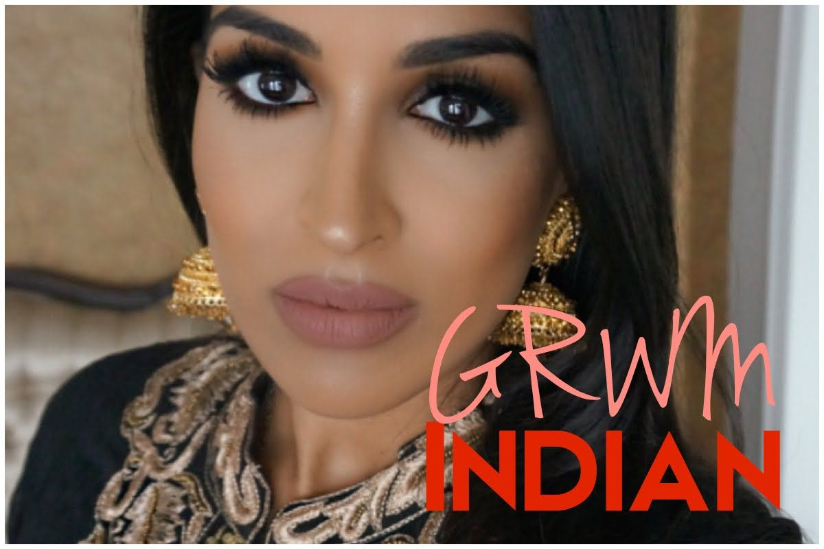 Make Up Ideas Get Ready With Me Grwm Indian Wedding Cut Your Own